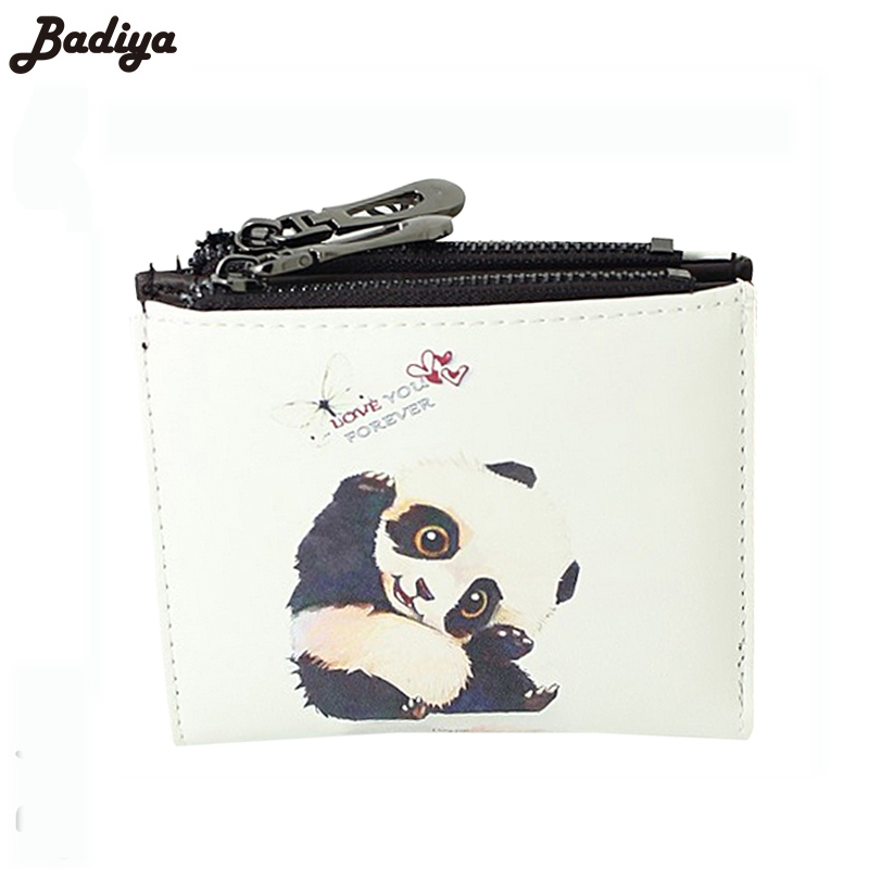 2016 New Design Short Wallet With Cartoon Pattern Girl ladies clutch wallet Mini Purse Wallet Handbag Multifunction lady wallet