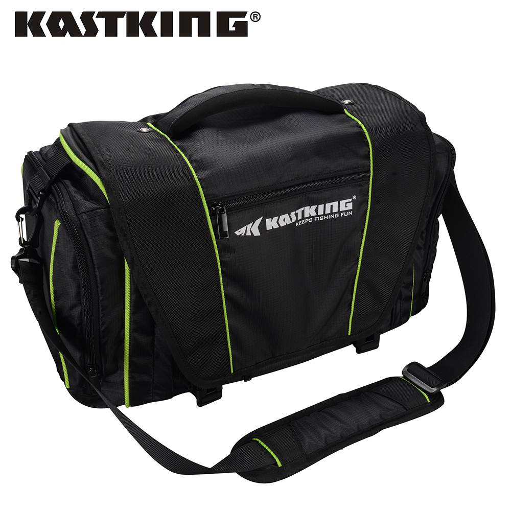 KastKing Water Resistant Fishing Bag Large Storage Capacity Multifunctional Lure Fishing Tackle Tool Pack Outdoor Sports Bag