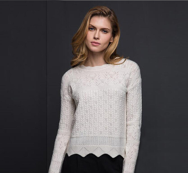 100 Cashmere Sky Blue Sweater White Women Pullover O neck Fashion Warm Soft Solid Natural Fabric High Quality Free Shipping in Pullovers from Women 39 s Clothing