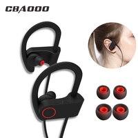 CBAOOO U8 Bluetooth Headphone Sport Wireless Bluetooth Earphone Bass Blutooth Headset Stereo IPX4 Waterproof With Mic