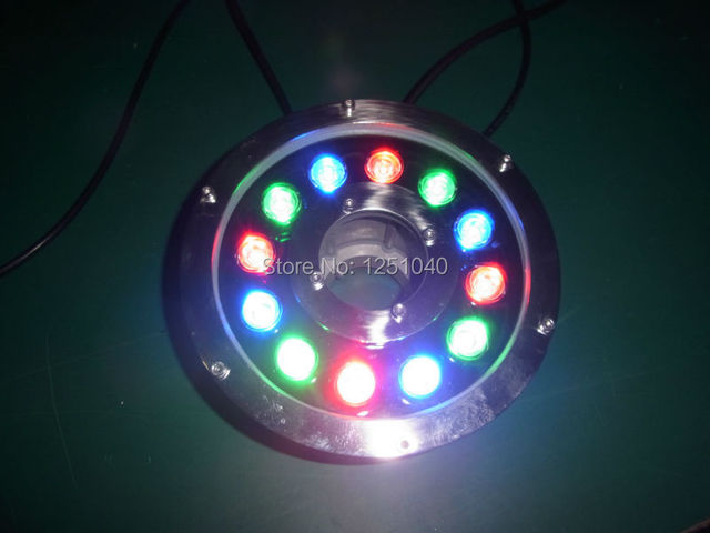 DMX512 Control Module RGB 12W Round Underwater LED Lights DC 24V Waterproof IP68 CE RoHS Outdoor & DMX512 Control Module RGB 12W Round Underwater LED Lights DC 24V ...