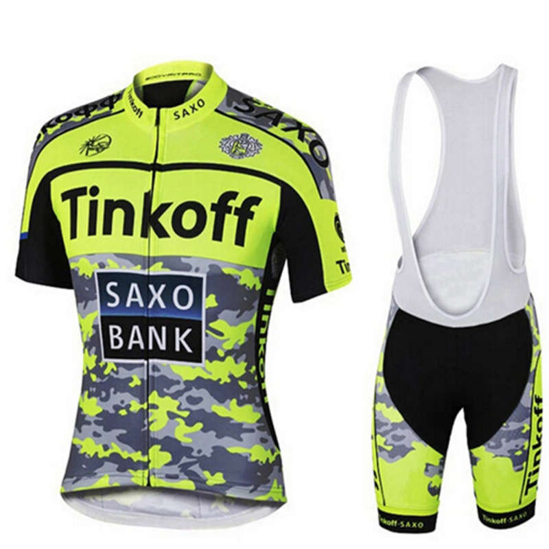 2017 Short Sleeve Polyester Cycling <font><b>Jersey</b></font> Set Summer MTB Bicycle Clothes Ropa Maillot Ciclismo Bike Wear Clothing XS TO 5XL