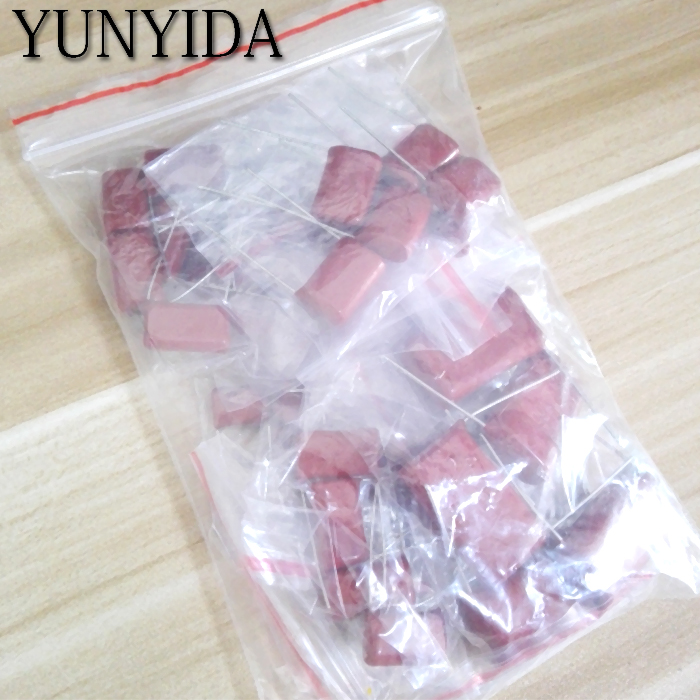 KIT  50PC=10value*5pcs Metallized Polyester Film Capacitors CBB Assortment Kit  400V  10nF ~ 3.3UF