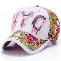 Wholesale 2016 Hot Fitted Baseball Cap Causal Embroidery Letter Outdoor Sports Jean Snapback Hats Baseball Cap For Women