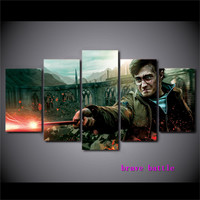 Harry Potter Canvas Painting Living Room Home Decor Modern Mural Art Oil Painting