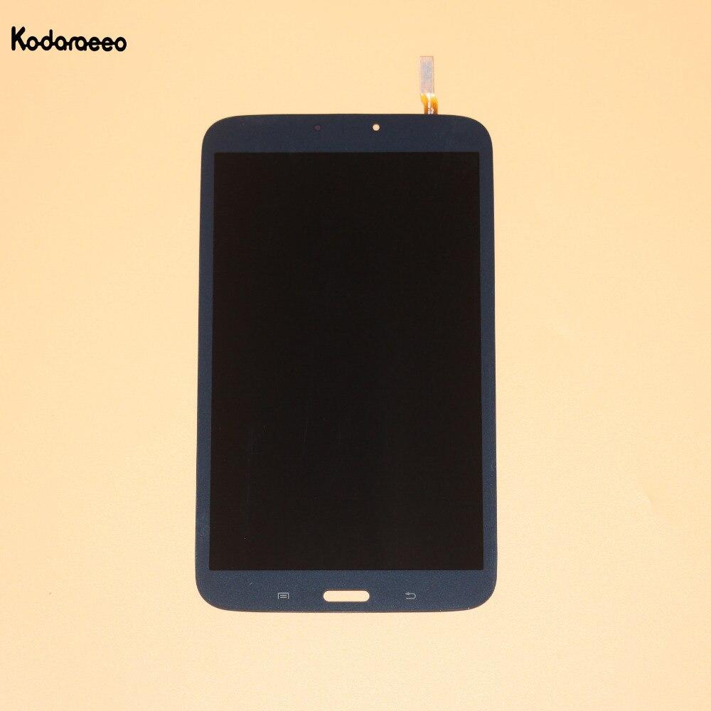 Kodaraeeo pour Samsung Galaxy Tab 3 8.0 SM-T310 T310 écran tactile numériseur verre + LCD affichage assemblage pièces de réparation bleu marine