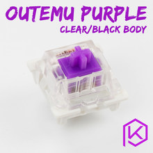 otm outemu 3pin clear purple 62g Tactile Switch for custom mechanical keyboard gh60 xd64 xd60 eepw84 gh60 tada68 rgb87 104 zz96(China)