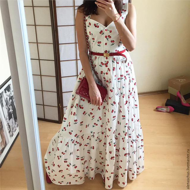 ab8def47b87 2018 Women Dress Summer Dress Cute A-line Direct Selling Top Fashion  Polyester Office Woman