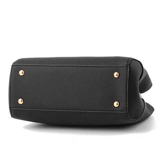 Litthing 2018 Elegant Shoulder Bag Women Designer Luxury Handbags Women Bags Plum Bow Sweet Messenger Crossbody Bag for Women
