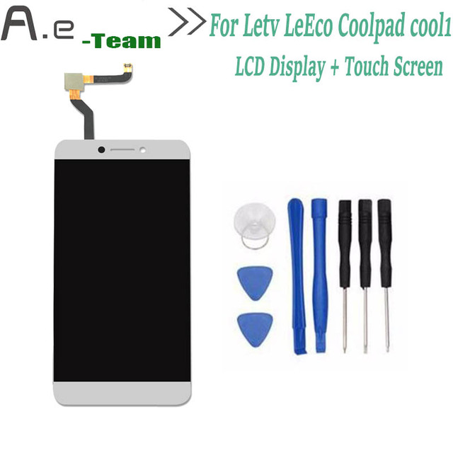 For Letv LeEco Coolpad cool1 cool 1 LCD Display+Touch Screen Digitizer Replacement For Letv cool 1 5.5inch Smartphone + Tools