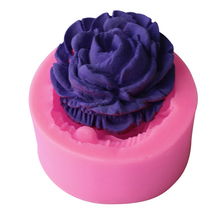 Baking Molds Clay Cookie-Soap Decorating-Chocolate Rose-Flower Fondant 3D Silicone Gift
