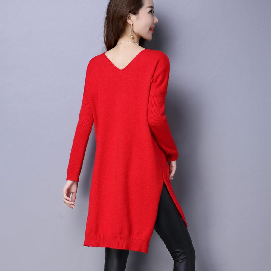 Aliexpress.com : Buy High Quality Women Long Sweater 2017 New ...