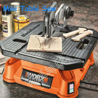 Electric Wood Table Saw Multi functional Aluminum/PVC Cutting Machine Woodworking Cutter Household Curve Saw WX572