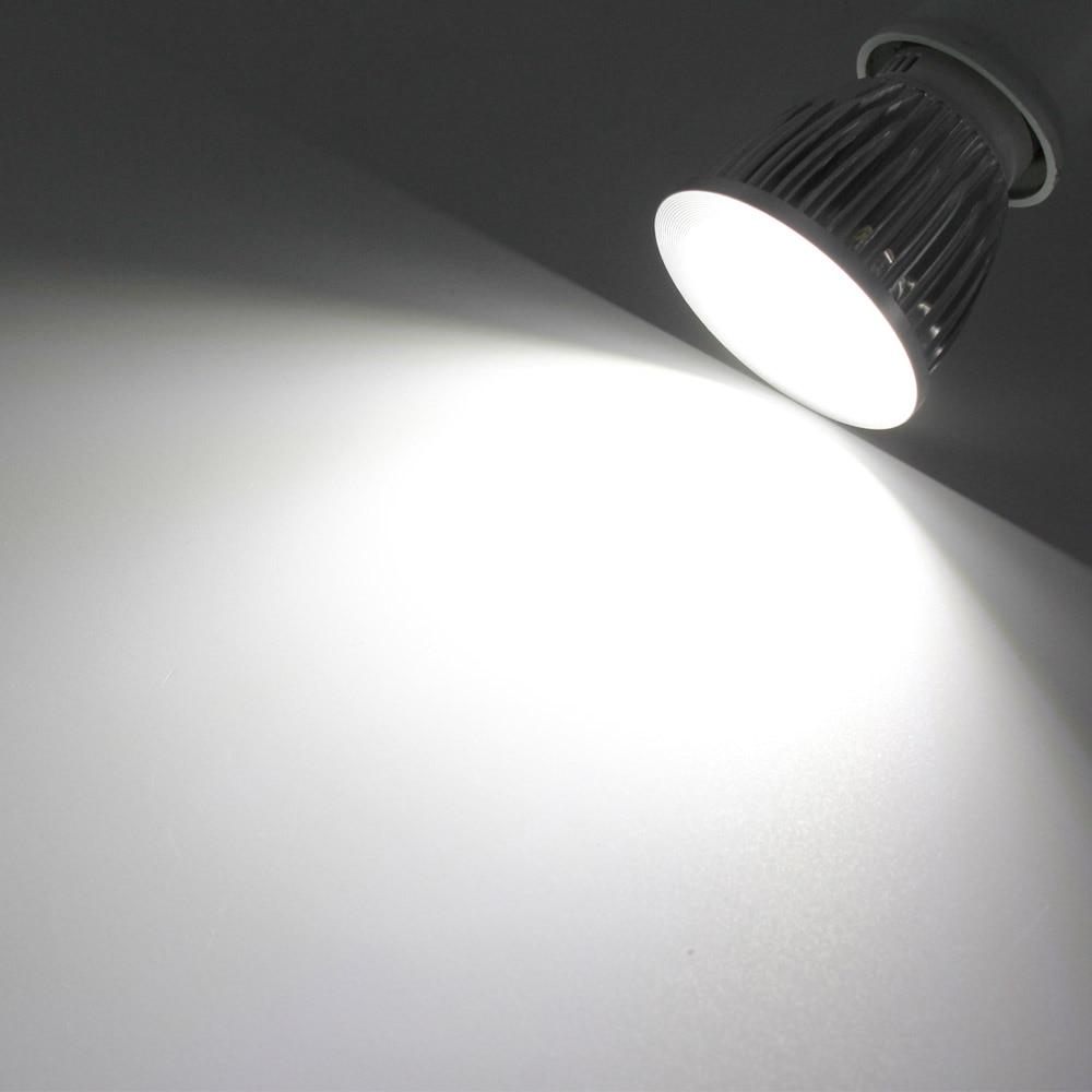 Spotlight E27 E14 GU10 MR16 6W 9W 12W COB Spot Light Bulb Lamp Ultra Bright LED