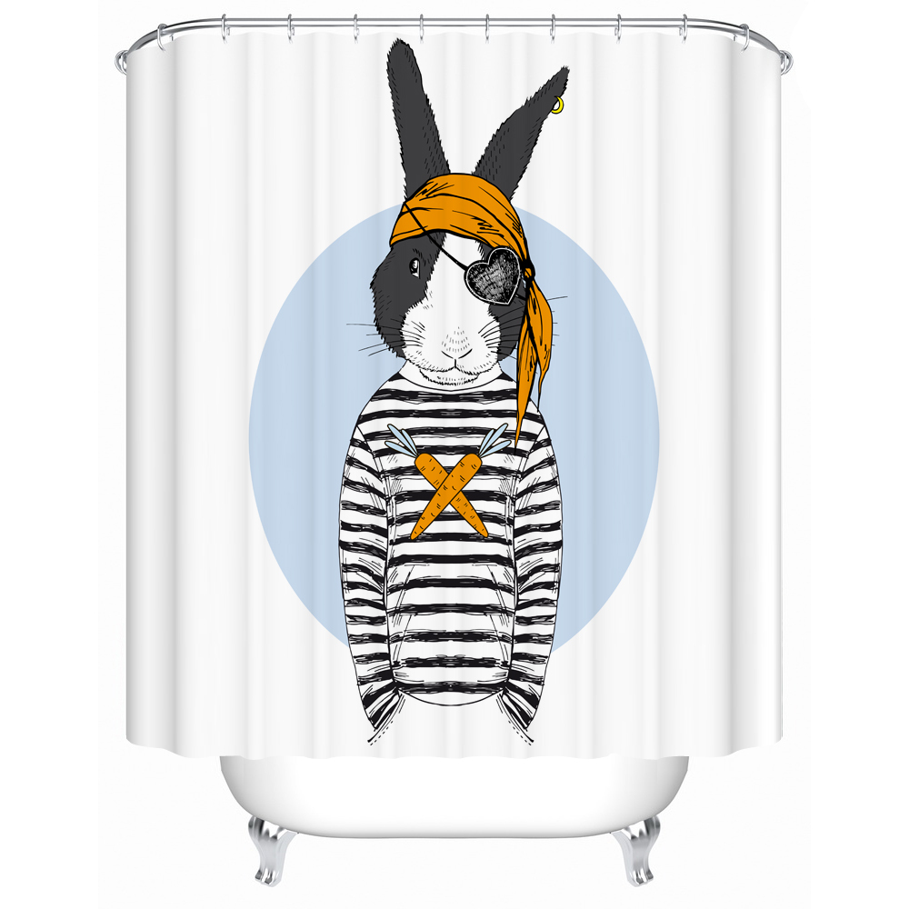 Online Shop 2017 New Custom 3d Shower Curtain Hipster Animal Pattern  Waterproof Bathroom Liner Anti Mold High Quality Shower Curtains |  Aliexpress Mobile