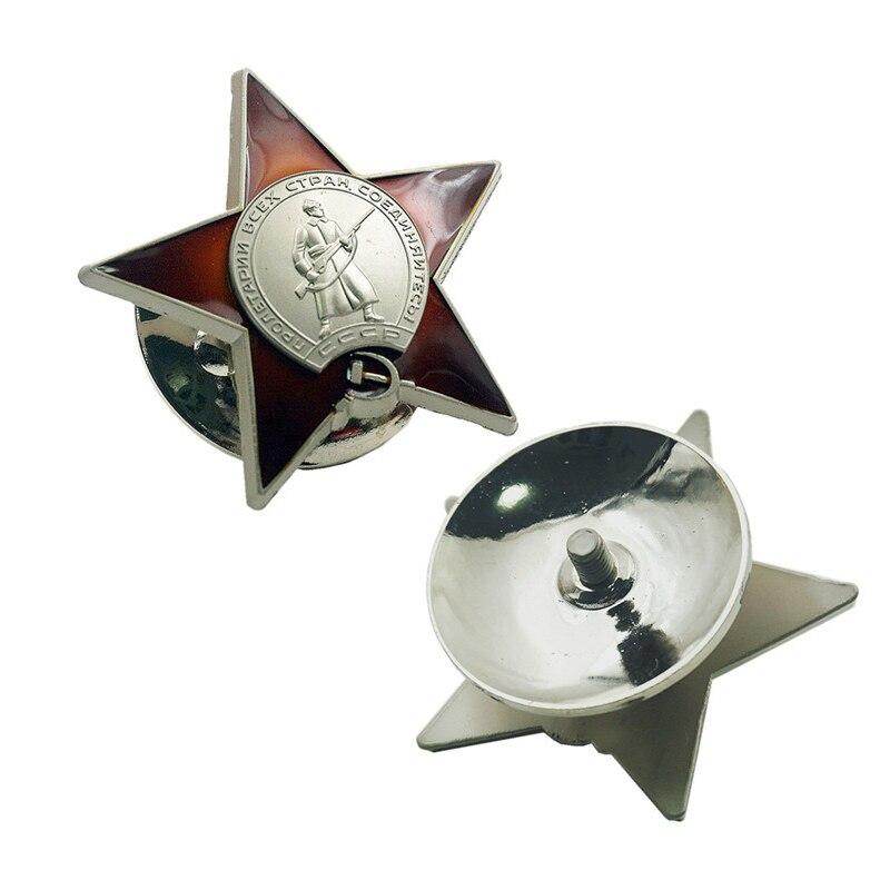 Rétro métal russe rouge armée Union soviétique urss médaille militaire Badge pour uniformes Souvenir collection médaille militaire insigne