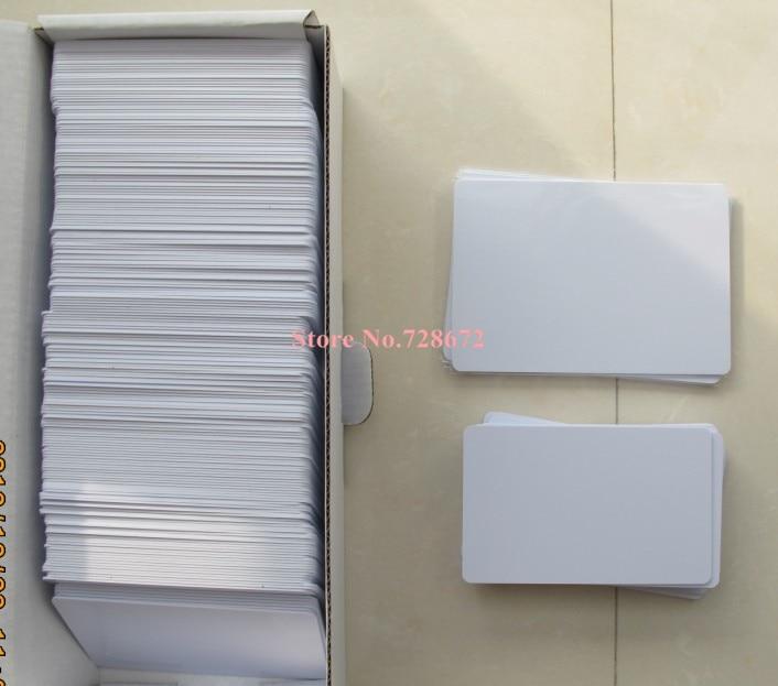 Inkjet blank pvc-karte weiße ausweis für epson/canon inkjet P50 T50 T60 P50 L800 R200 R230 R260 IP4810 IP4700 IP4930 drucker