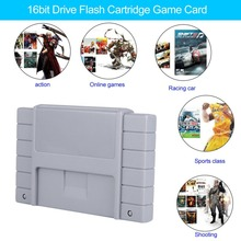 Onleny Classical 16-bit Flash Game Drive Flash Cartridge TV Video Games Console Gaming Card Plug & Play for FINAL FIGHTT 3