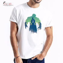 2QIMU 2019 Simple Creative Design T-Shirts Mens Cartoon Pattern HULK Short Sleeve Print T-Shirt O-Neck TopTees