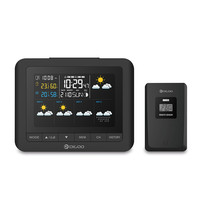 Digoo DG TH8805 TH8805 Wireless Forcast Weather Station Screen Digital Hygrometer Humidity Thermometer Temperature Sensor Clock