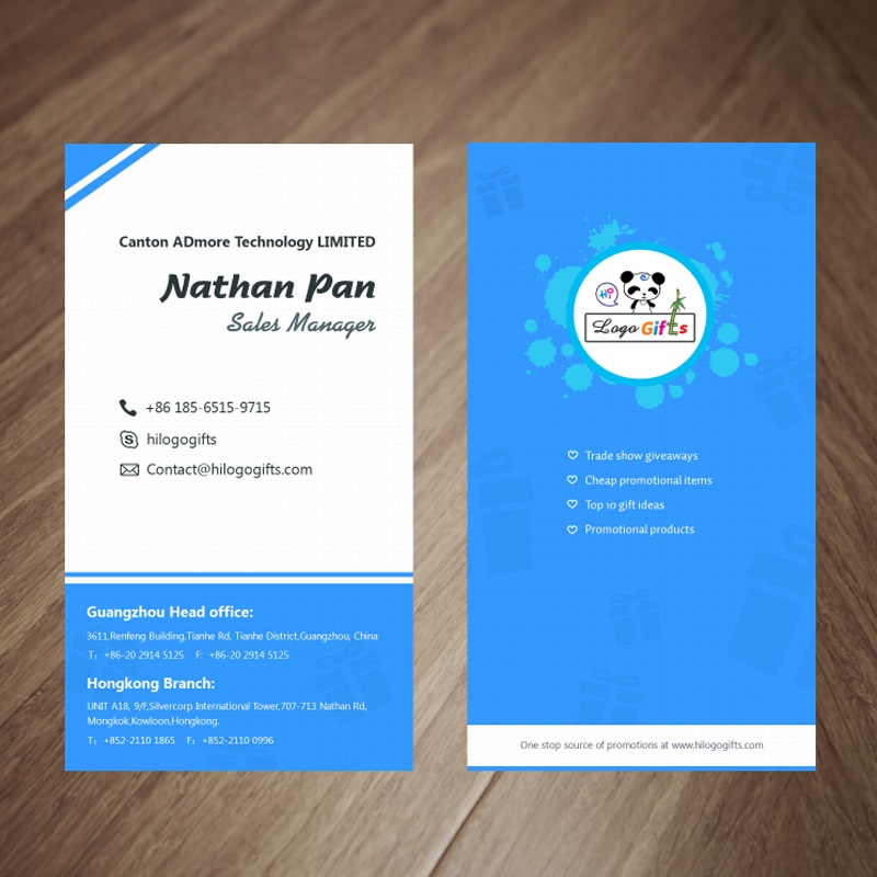 NEW Business name cards white paper with both sides printing full ...