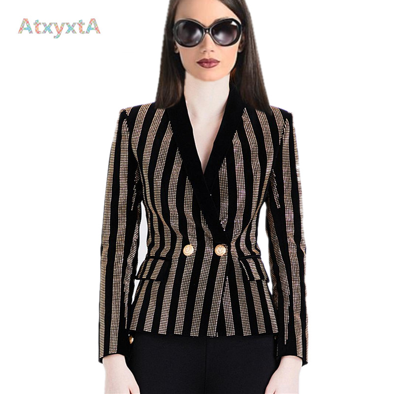 Popular Gold Blazer Jacket-Buy Cheap Gold Blazer Jacket lots from ...