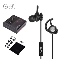 GV2 In Ear Earbuds Wired Noise Cancelling Gaming Headset HIFI Sport Hook Earphones Stereo Bass Headphone