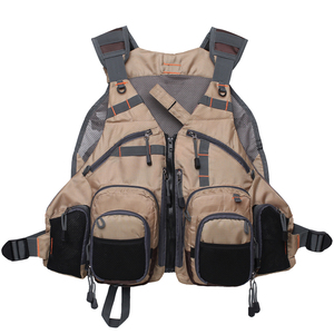 Image 3 - Fly Fishing Vest Pack for Trout Fishing Gear and Equipment Multifunction Breathable Backpack Adjustable Size  for Men and Women
