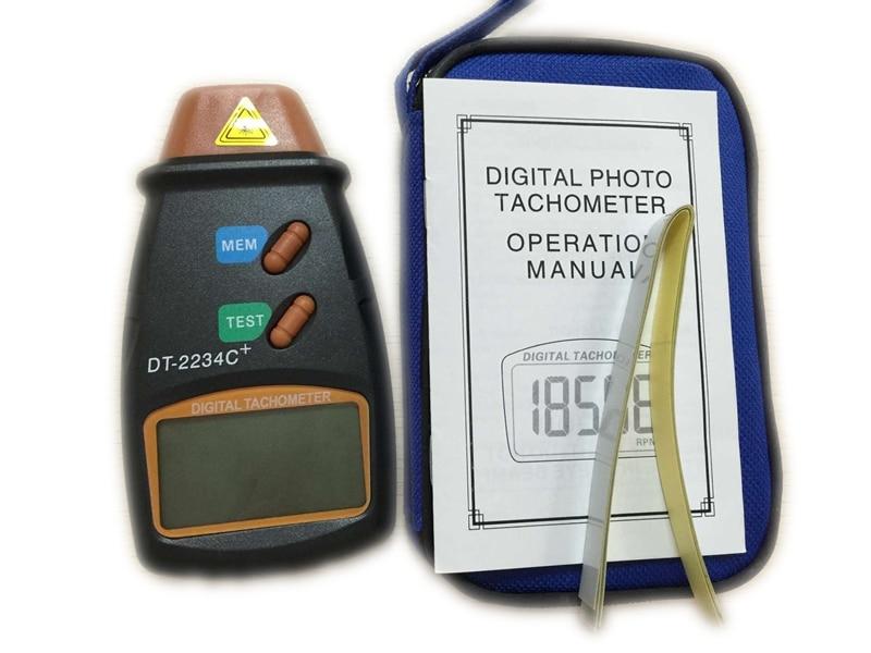 Cyfrowy laserowy obrotomierz 2.5-100000 RPM Elektroniczny obrotomierz - Przyrządy pomiarowe - Zdjęcie 5