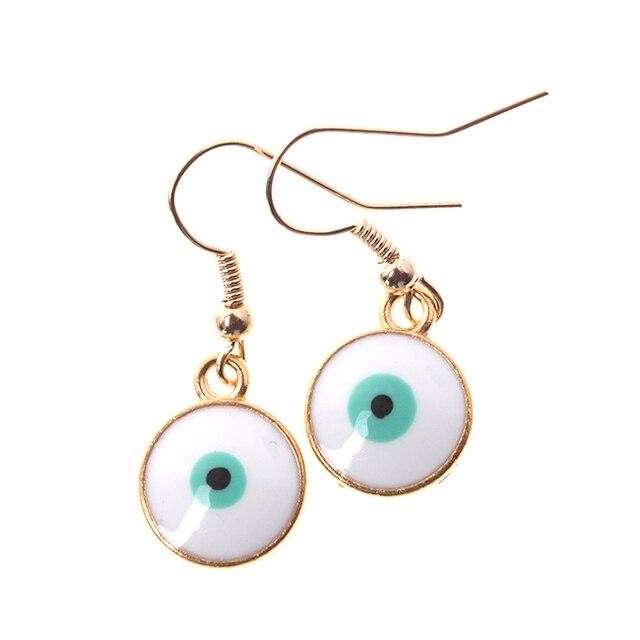 12pairs/lot New Arrival Zinc Alloy Women Special Design eyeball Earrings Drop Earring findings 32mm 340221