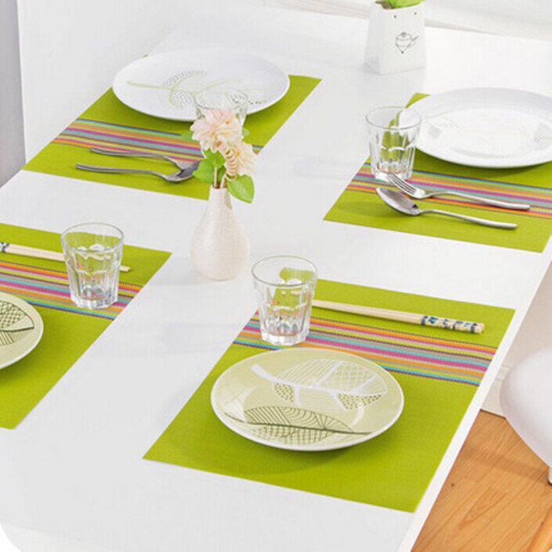 Popular Pvc Placemats Table Mat Buy Cheap Pvc Placemats Table Mat