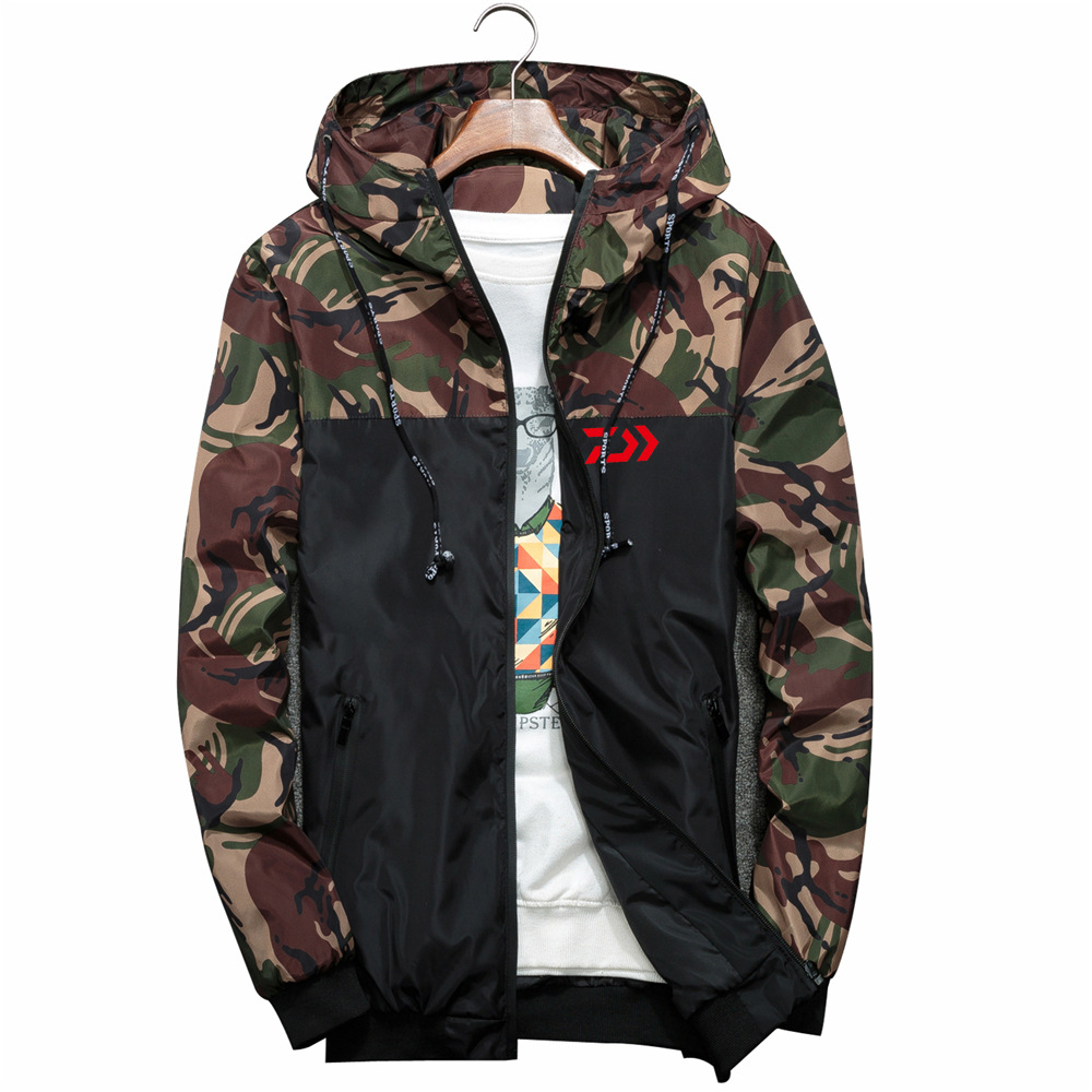Daiwa Angeln Kleidung Quick Dry Angeln Kleidung Outdoor Sport Dawa Angeln Shirts Herren Atmungsaktive Camouflage Angeln Jacken