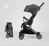Risio cochecito de bebé plegable ligero  cochecito de bebé en avión  kinderwagen cochecito de bebé  cesta de bebé recién nacido Sistema de viaje