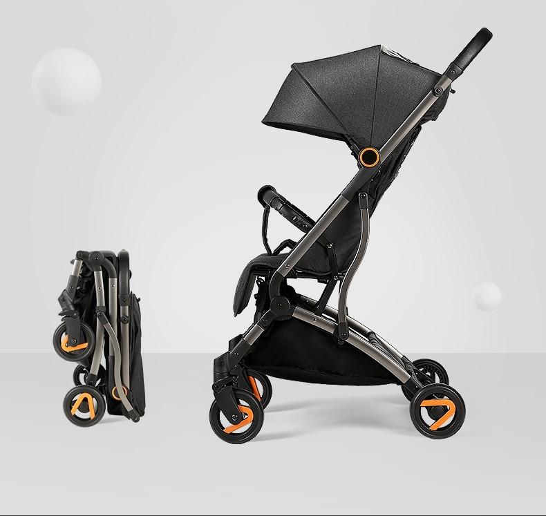 Risio katlanabilir hafif bebek arabası, uçakta arazi bebek arabası kinderwagen puset, pram, carseat yenidoğan sepeti beşik seyahat sistemi