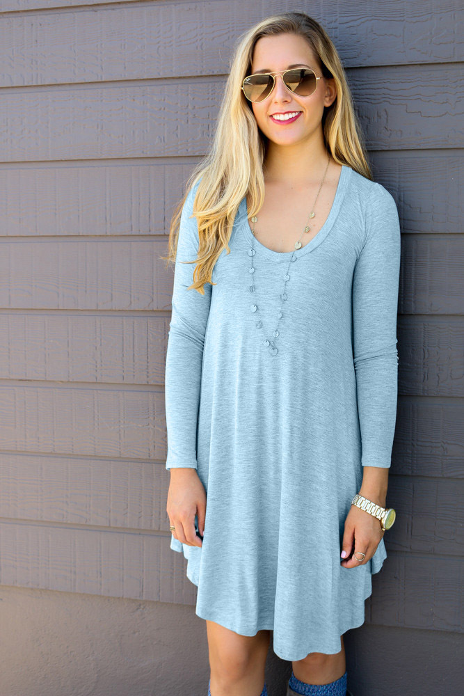 2a0765f944 Women s Long Sleeve Casual Loose T Shirt Dress maternity dress plus size  pregnant women dress winter maternity photography 510-in Dresses from  Mother   Kids ...