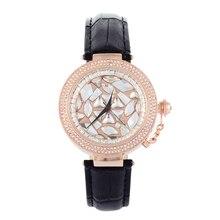 Montre Femme Light Extravagant MASHALI Watches Rhinestone Dress Watches Vogue Girls Personalized Exchangable Frame Hours W062
