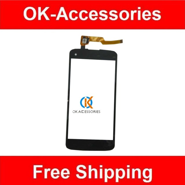 Black Color For Philips I908 Touch Screen Digitizer 1PC/Lot