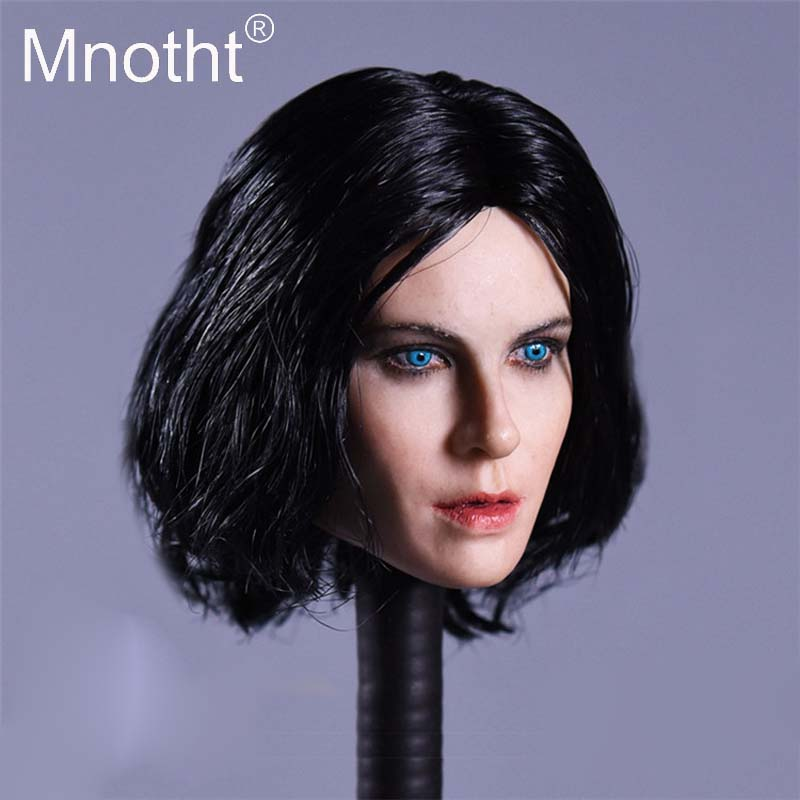 Mnotht Toys 1:6 Scale BiteFight Selena Head Sculpt Female Soldier Head Carving With Hair For 12in Action Figure Hobbies m3 аминокислоты qnt bcaa 8500 апельсин 350 г