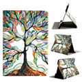 Мода Hot Продажи Дерево Pattern Flip Стенд Кожа PU Case обложка Чехол Для Apple iPad Mini 1 2 3 Топ качество