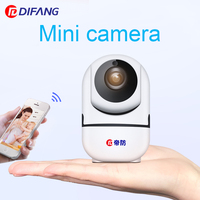 DiFang 2018 720P Small Mini Indoor Home Security WiFi IP Camera Wireless Surveillance Camera Night Vision
