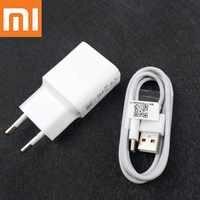 Original XiaoMi Mi 9 chargeur rapide QC3.0 EU mur Usb type-c câble 9V 2A adaptateur de Charge rapide pour Mi A2 A1 F1 8 6 Mix 3 2s 2 Max 3
