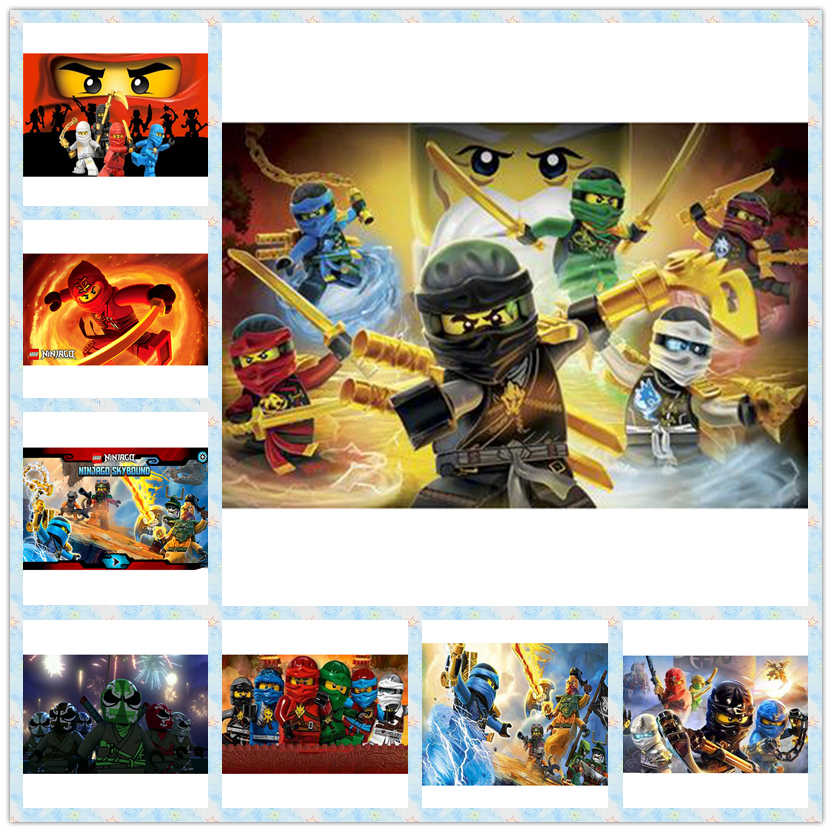 New arrival Diamond Painting Cross Stitch Full drill Diamond Embroidery Mosaic Legoings Ninjago pictures Rhinestones gift LG2888