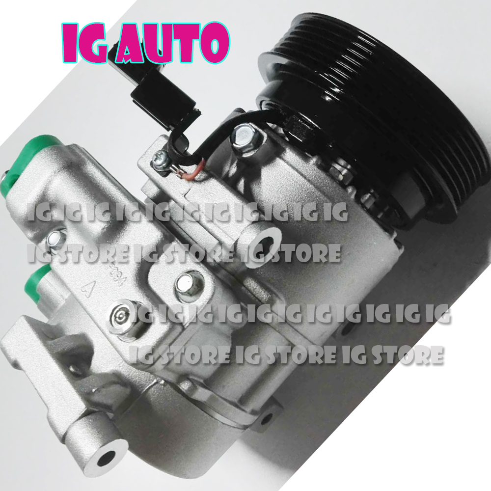 New AC Compressor For Hyundai Veloster 1 6L 2012 2013 2014 977012F800AS 977012F031 977012F800 112703150 977012V000 178323 in Air conditioning Installation from Automobiles Motorcycles