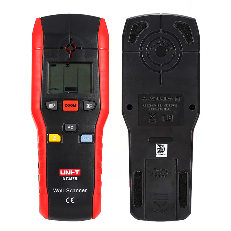 New UNI-T UT387B Multifunctional Handheld Wall Detector Metal Wood AC Cable Finder Scanner Accurate Wall Diagnostic-tool