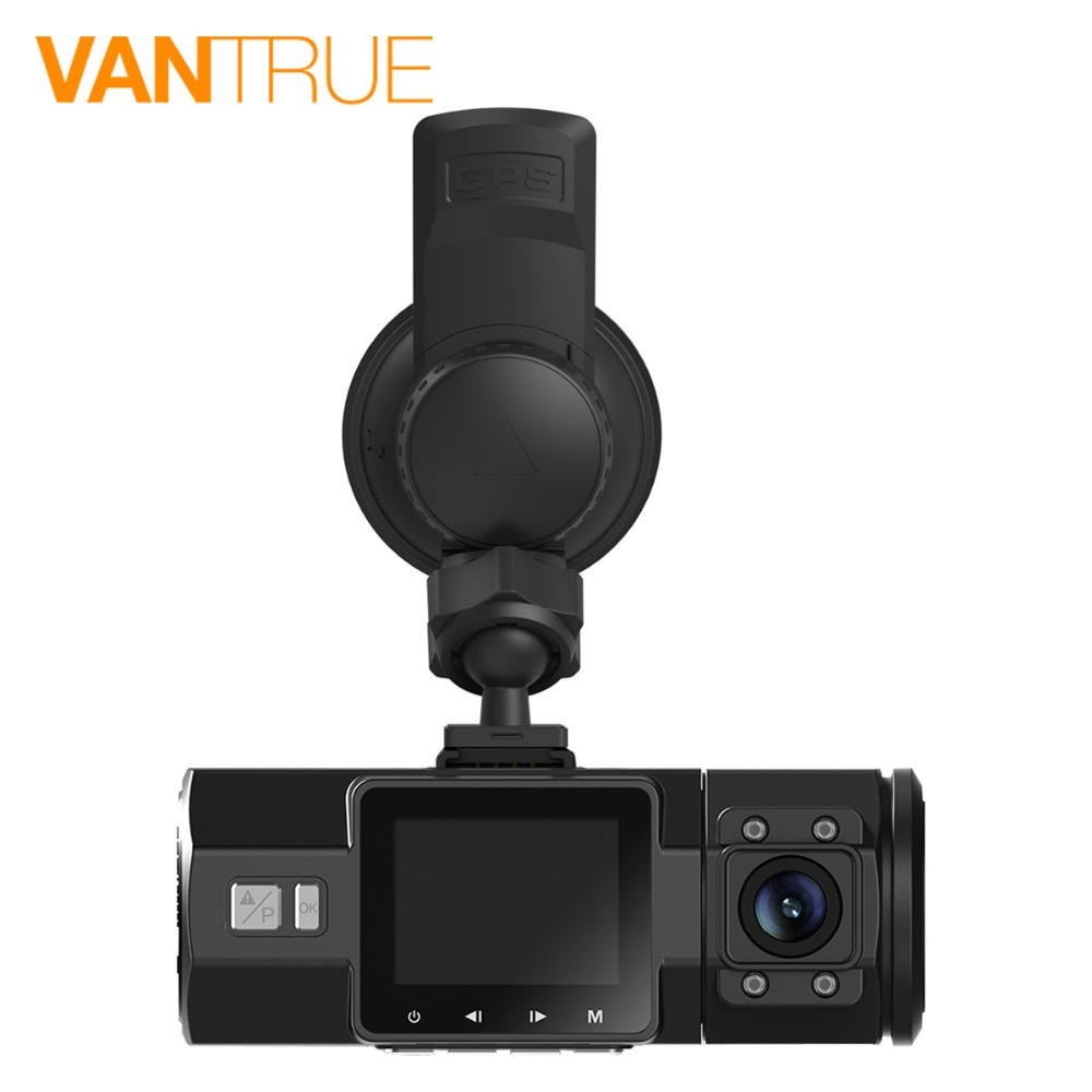 Vantrue N2 Pro Dash Cam Dual Lens 1080P Car DVR Camera Video Recorder GPS Receiver Module