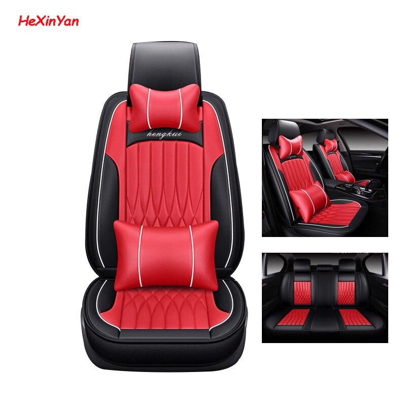 Housses de siège auto en cuir universel HeXinYan pour Hyundai tout modèle tucson ix35 terrasses azera lantra i40 accent solaris elantra
