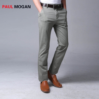 Paul Mogan 2017 Men Pants Dark Grey Plus Size Cotton Pants Casual Cargo Pants Men Pantalon