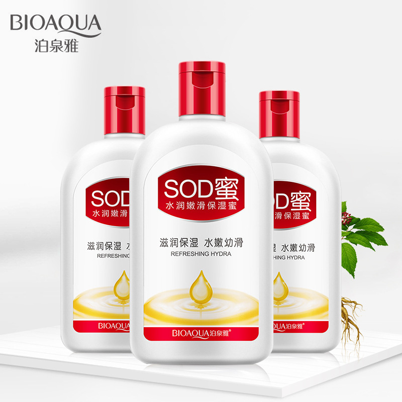 Bioaqua Hydrating Hydrating SOD Honey Lotion Moisturizing Skin Care Body Lotion Body Care