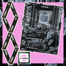 Motherboard with 8 RAM slots Runing X79 motherboard with Intel core i7 3960X 3.3GHz brand new memory 64G(8*8G) DDR3 1600MHz(China)
