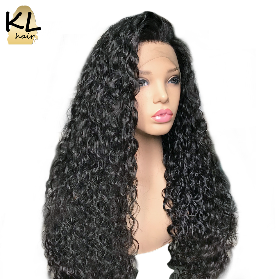 KL Lace Front Human Hair Wigs For Black Women Curly Peruvian Remy Human Hair 13 6